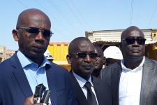 En images la visite du DG de l'ONAS à Dalifort