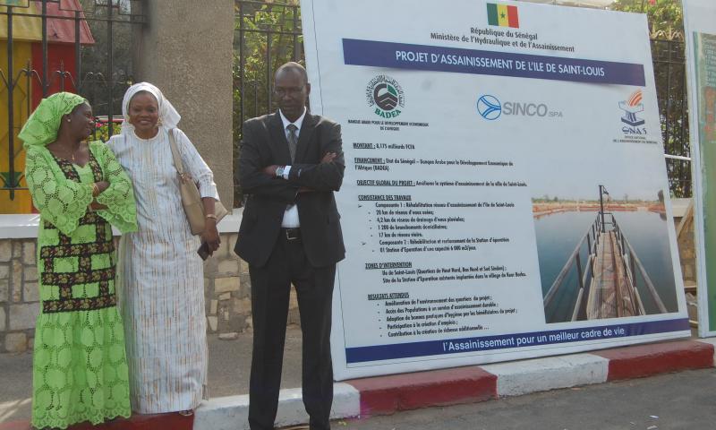Revivez en images le lancement des travaux d'assainissement de l'Ile de Saint-louis