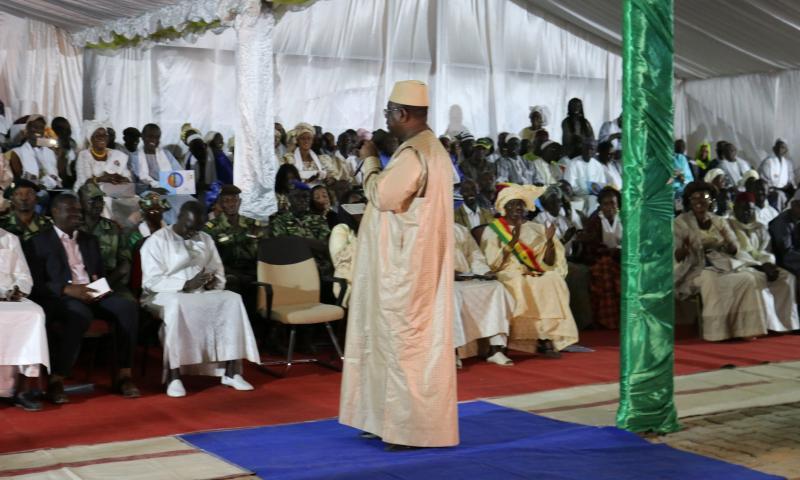 Revivez en images la cérémonie de réception des ouvrages d'assainissement de Joal, présidée par Son Excellence le Président Macky Sall