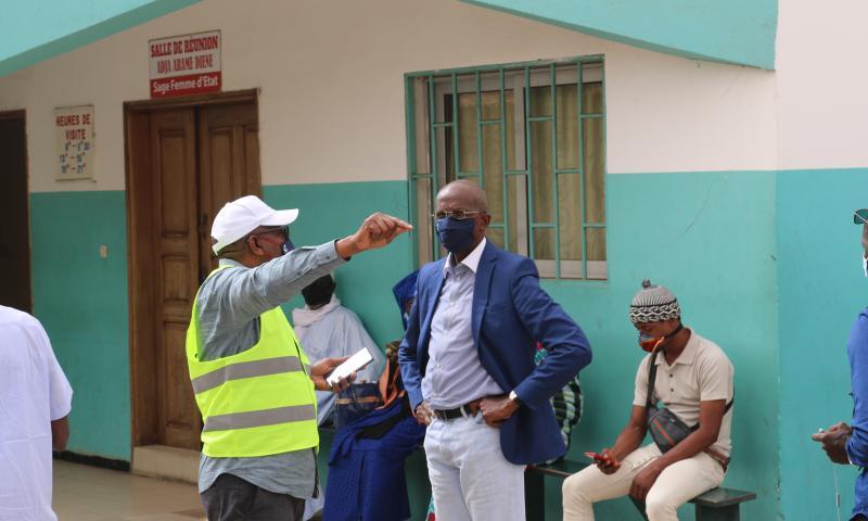 Centre Phillipe Maguilène Senghor de Yoff:  Mesures hardies de l'Onas contre les inondations