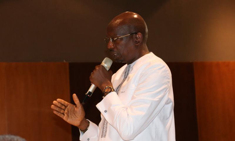 Le Directeur Général de l'Office National de l'Assainissement du Sénégal (ONAS), Lansana Gagny SAKHO élu vice-Président de l'Afrique de l'Ouest de l'Association Africaine de l'Eau (AAE).