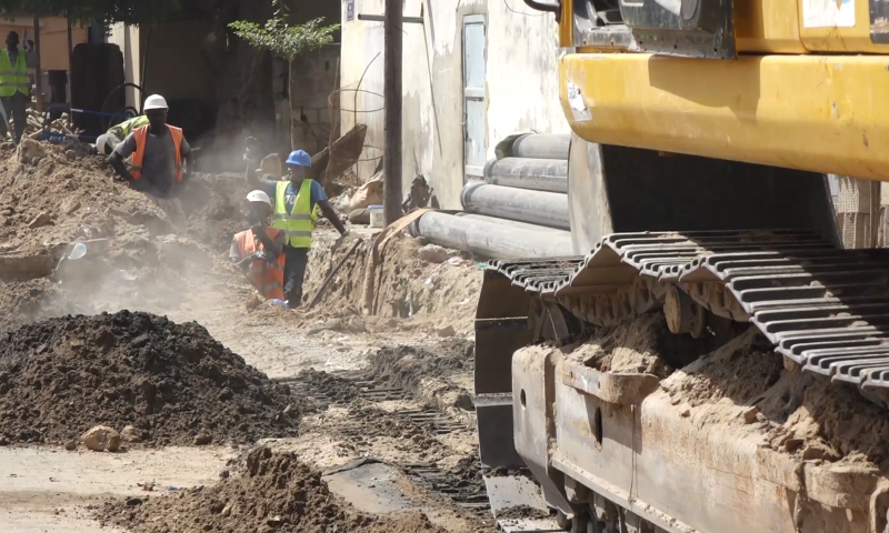 Assainissement : Démarrage des travaux pour le tout-à -l'égout