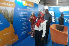 Le DG de l'Office National de l'Assainissement du Sénégal (l'ONAS), Monsieur Lansana Gagny Sakho  a visité, hier, notre stand à la 26éme FIDAK2017. Revivez en images les moments forts.