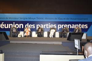Réunion des parties prenantes du 9ème Forum mondial de l'eau