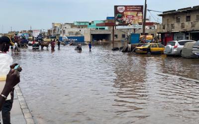 Yoff, Ouest Foire : les inondations se conjuguent au passé