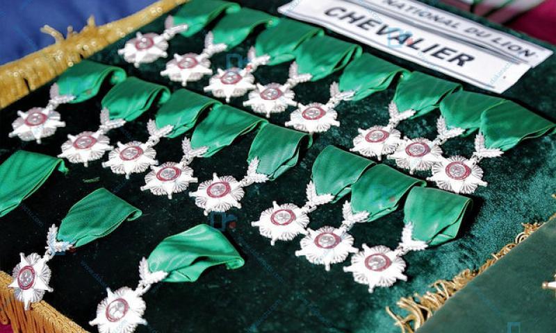 Revivez en images la cérémonie de présentation de vœux et de décoration du personnel du ministère de l'hydraulique et de l'assainissement