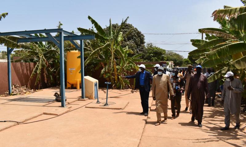 Revivez en images la visite de terrain du DG DE l'ONAS à Mbour
