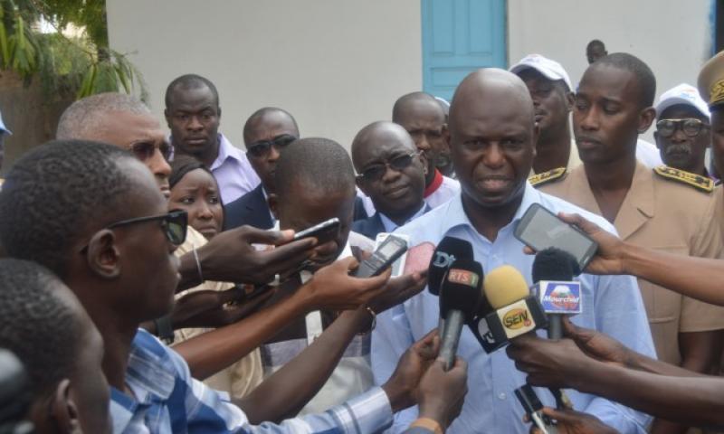 Le curage continue à Dakar