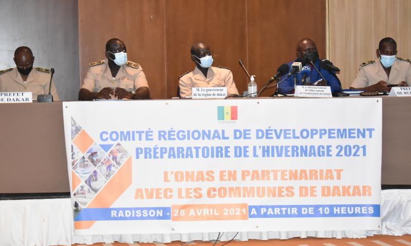 Revivez en images l'atelier du comité régional de développement préparatoire de l'hivernage 2021