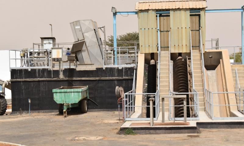 Revivez en images la visite de terrain du DG DE l'ONAS à Thiès