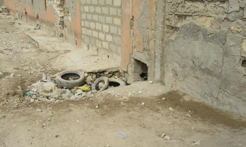Revivez en images la visite du DG de l'ONAS des réalisations du réseau de drainage des eaux pluviales de Gouye Mouride à Rufisque
