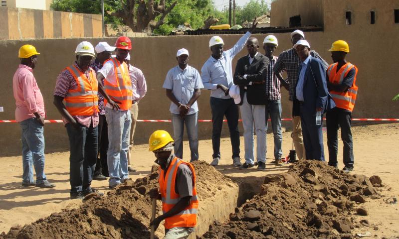 Louga : Retour en images de la visite de chantier du DG de l'ONAS