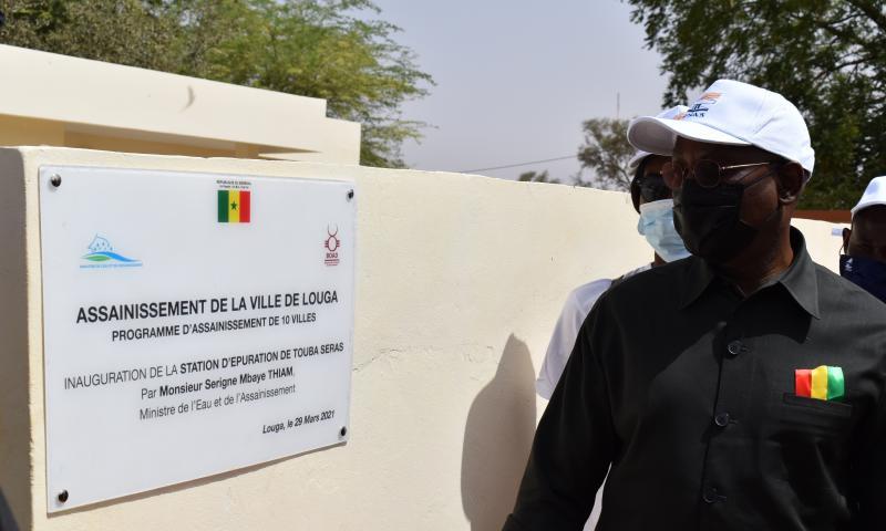 Assainissement : de nouveaux ouvrages pour améliorer des conditions  de vie de 60 000 personnes à Louga