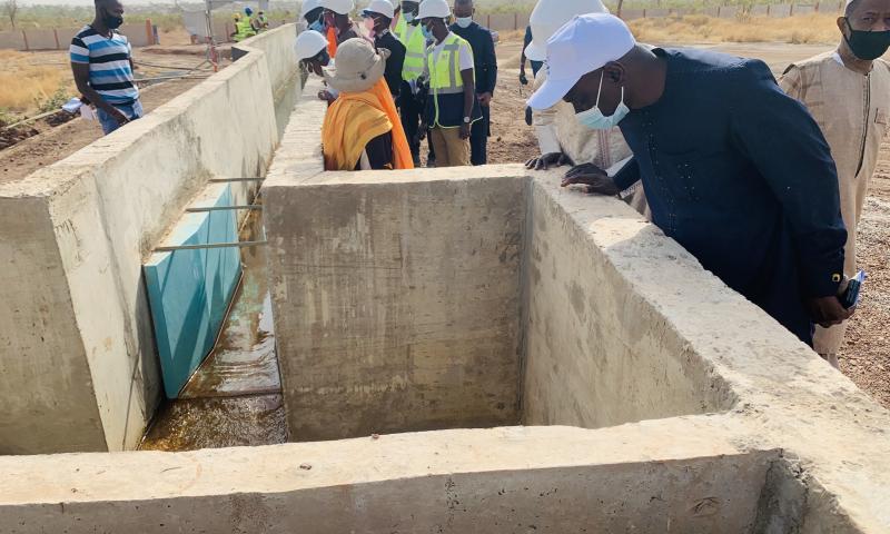 Dr Aboubacar Mbaye pour une sécurisation des ouvrages d'assainissement et la réactualisation du Plan Directeur d'Assainissement
